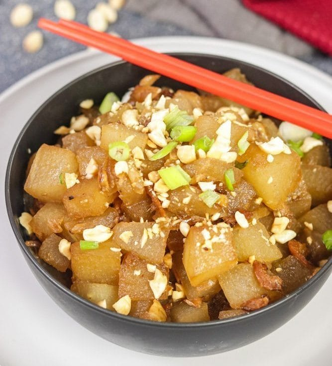 thai winter melon white pumpkin stir fry