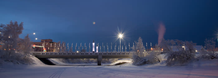 winter solstice lights and fireworks fairbanks alaska