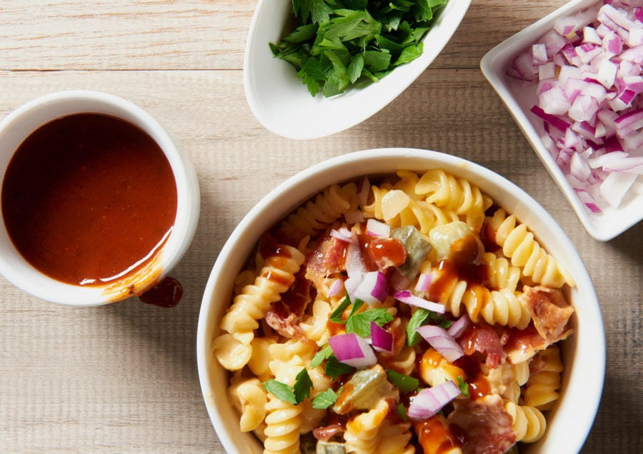 barbecue mac and cheese slow cooker crock pot recipe