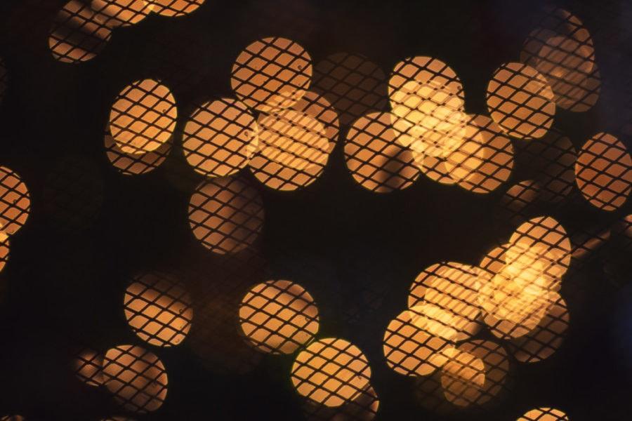 wood burning fireplace screen