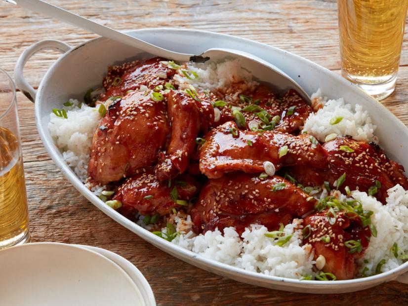 slow cooker crock pot chicken thighs recipe