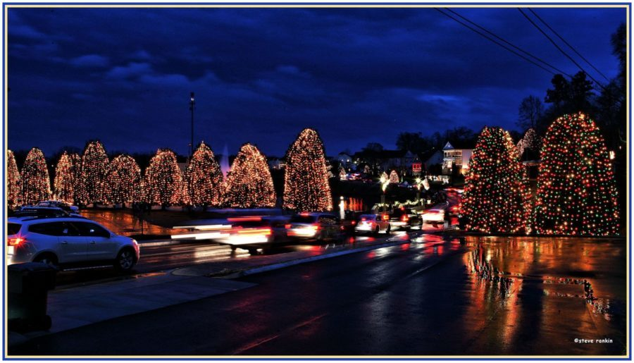 christmas town usa lights