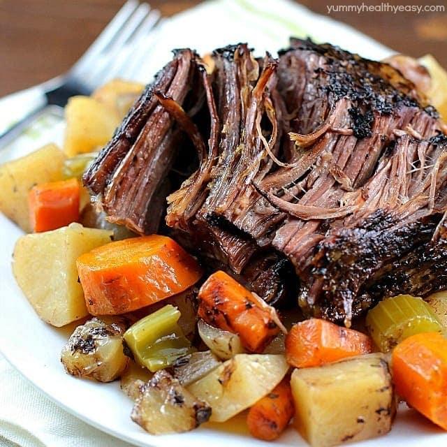 crock pot roast veg potatoes