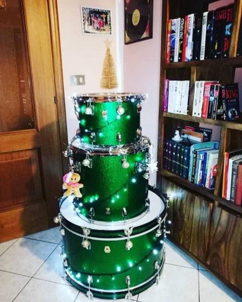 drum kit alternative tree idea