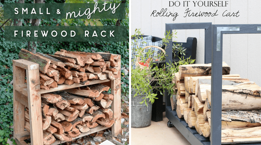 free build plans for firewood racks
