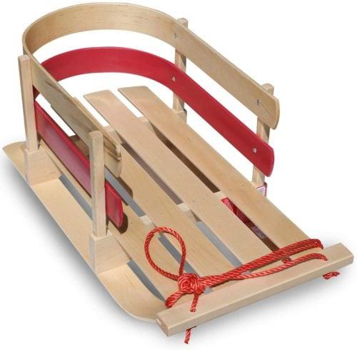 Flexible Flyer Wooden Sled