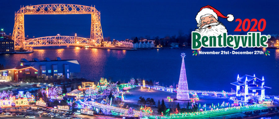 bentleyville tour of lights wide view bridge