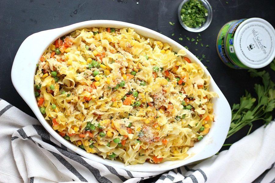 tuna casserole healthier more veg