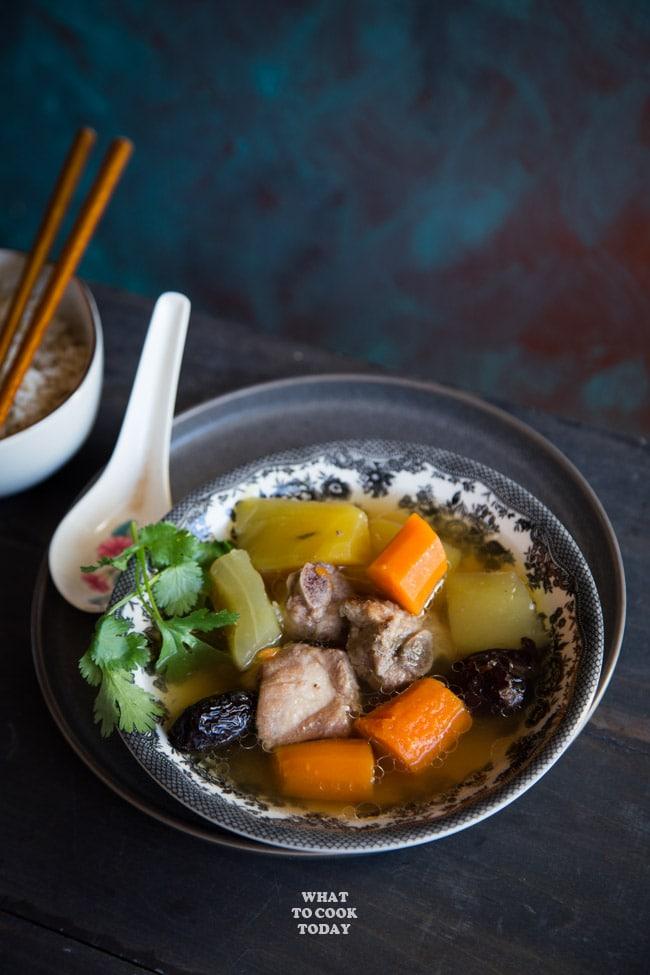 wintermelon and rib soup recipe