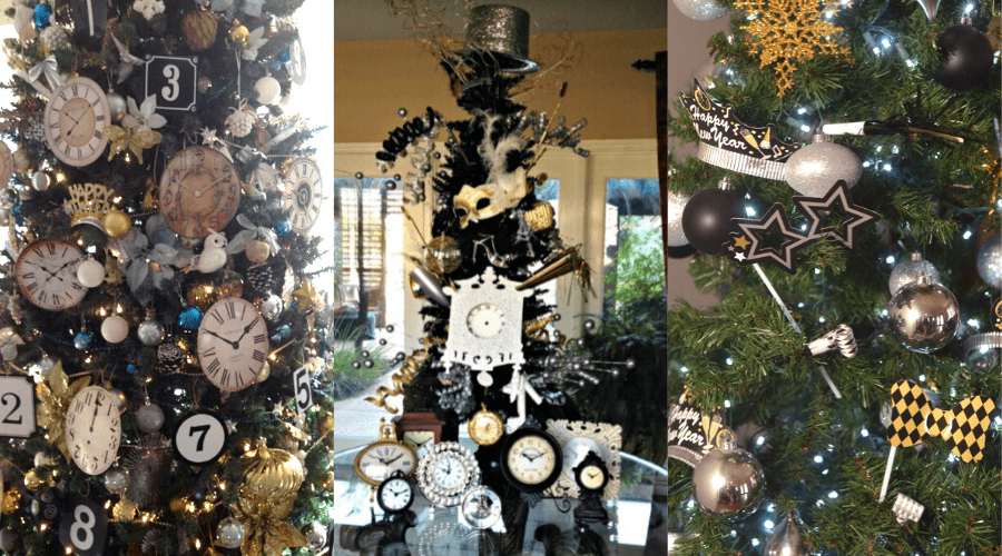 ring in the new year tree decoration ideas