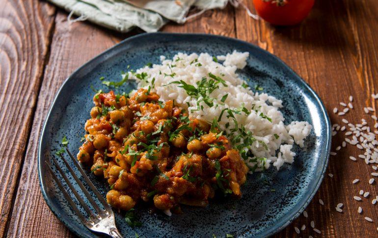 carrot, butter bean and Celeriac Curry