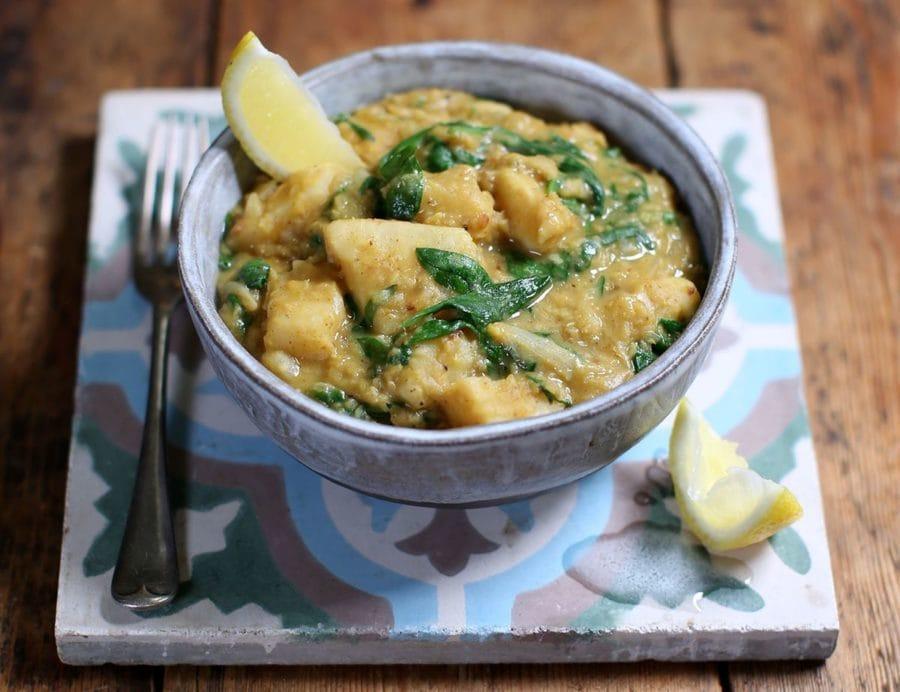 Goan Spiced Celeriac & Lentil Curry