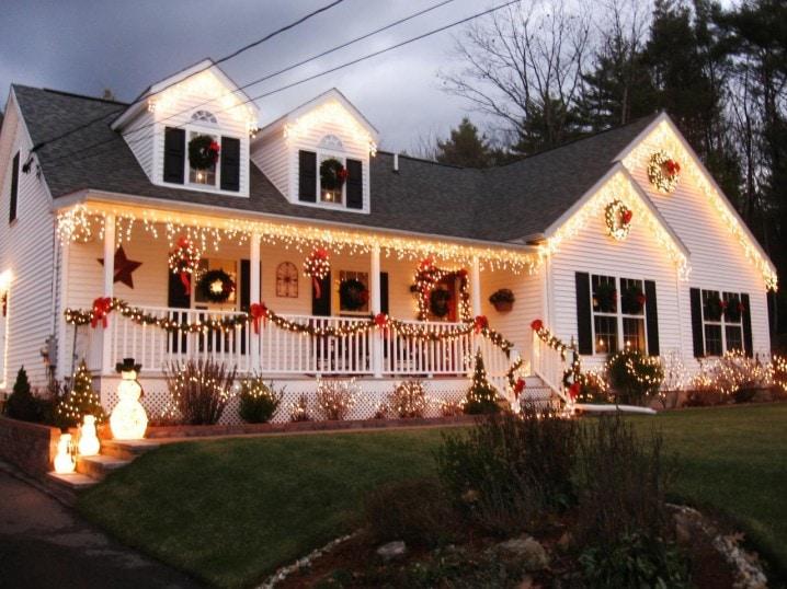 decoration ideas for large front porches