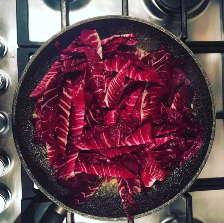 Sauteed radicchio the spruce eats recipe