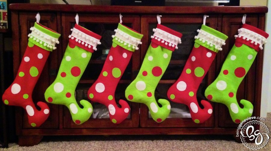 grinch christmas stocking decor