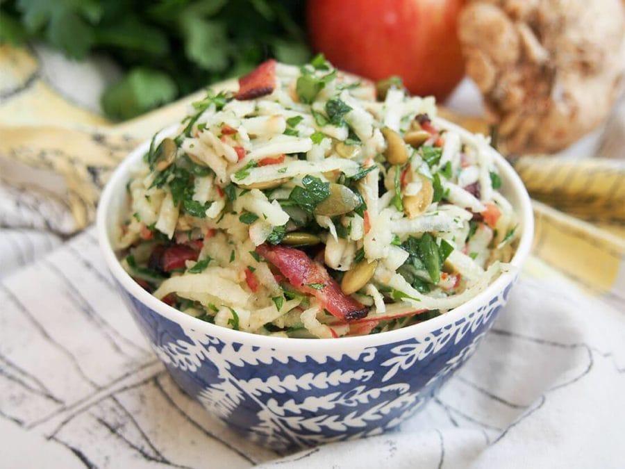 apple celeriac salad recipe yummly