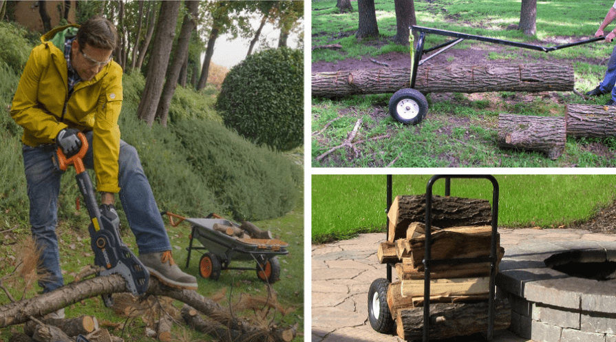 best log dolly firewood cart featured
