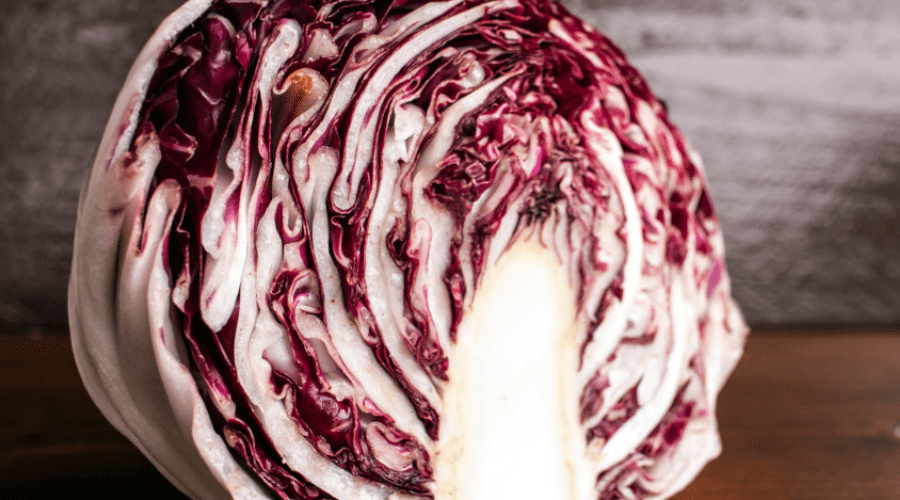 best radicchio recipes wide raw crossection