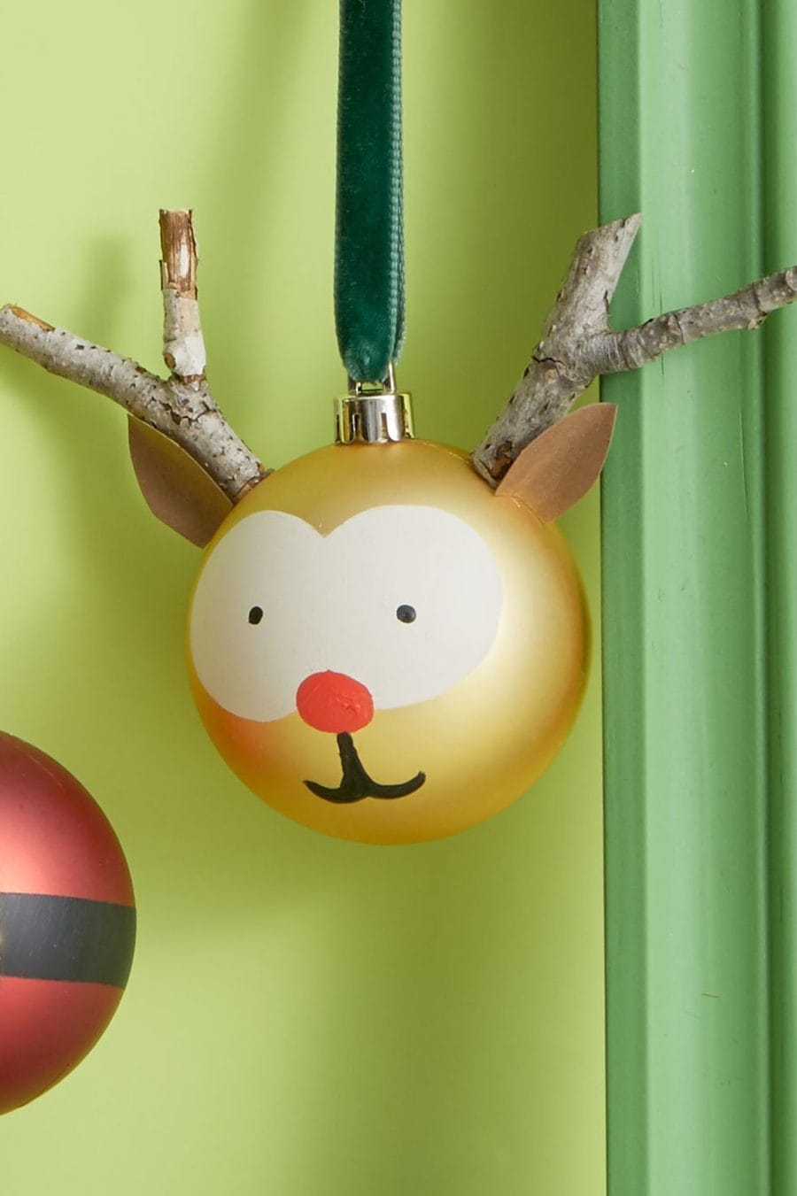 Reindeer Ornament diy tutorial