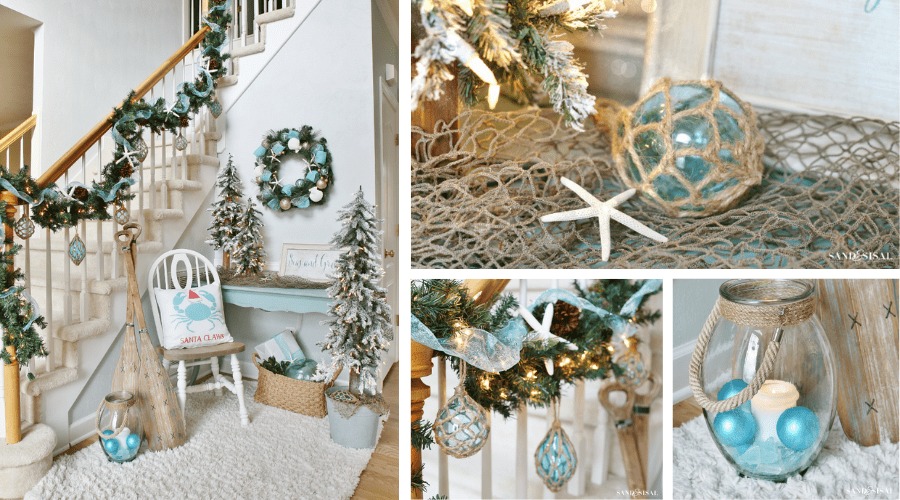 christmas decorating ideas beach