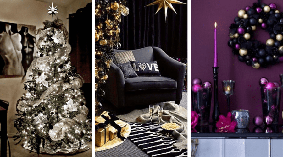 christmas decorating ideas goth moody