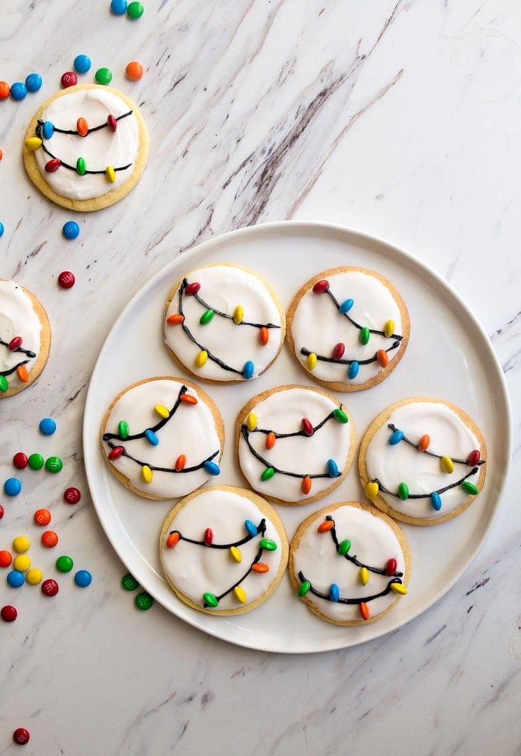 chirstmas light cookies recipe