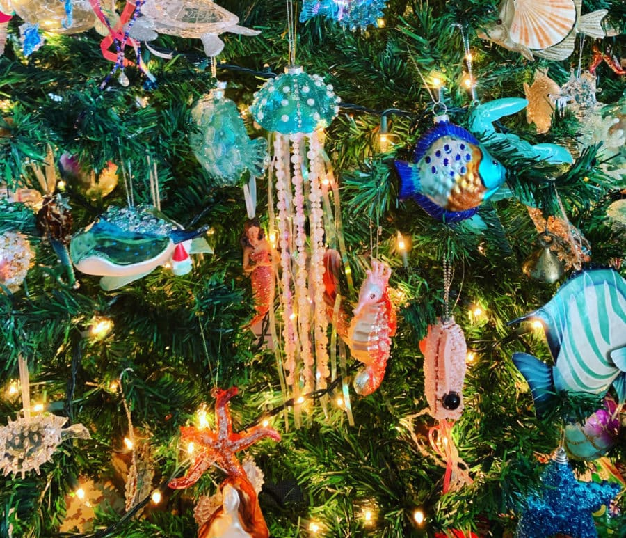 under the sea christmas tree decor