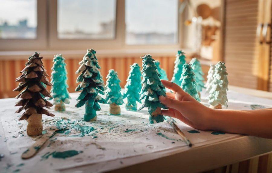 small christmas tree decor ideas diy trees
