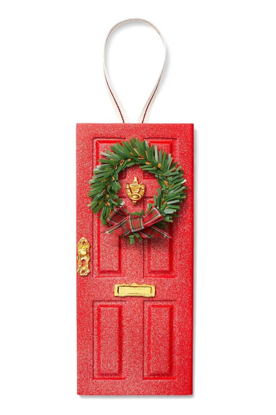 Elf Door Ornament