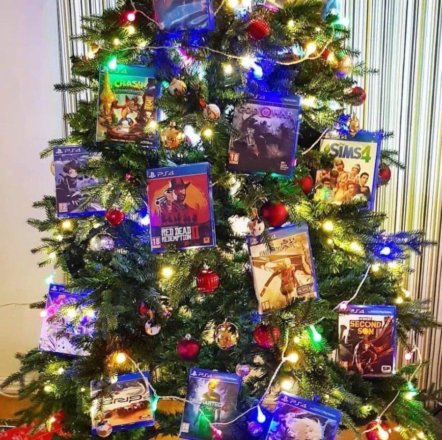 game geeks tree xmas theme christmas