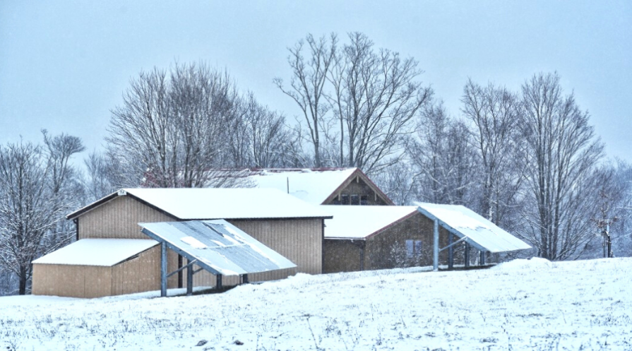 how to keep snow off solar panels featured wide