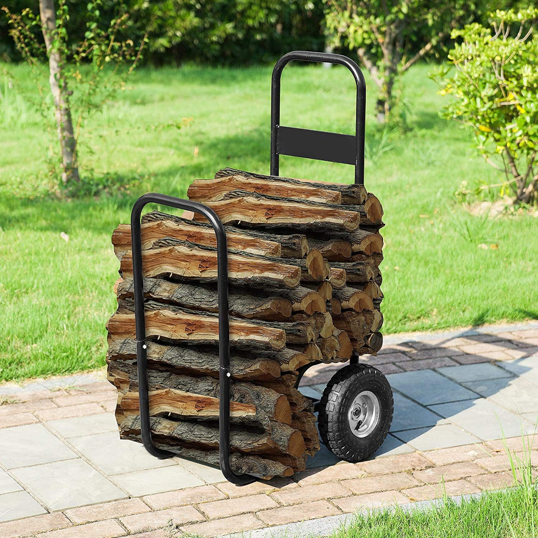 Earth Worth Log Cart
