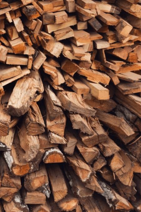 season firewood tall seasoning cedar planks