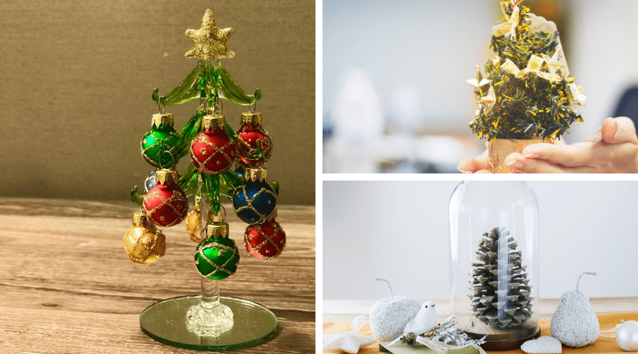 small Christmas tree ideas placement wide