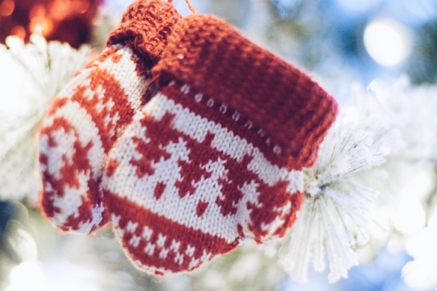 xmas tree decoration ideas christmas mittens