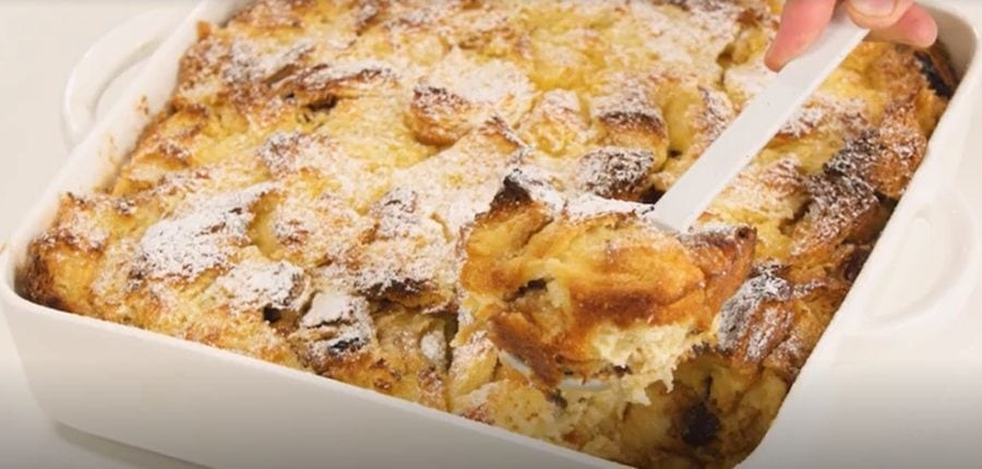 ultimate bread and butter pudding