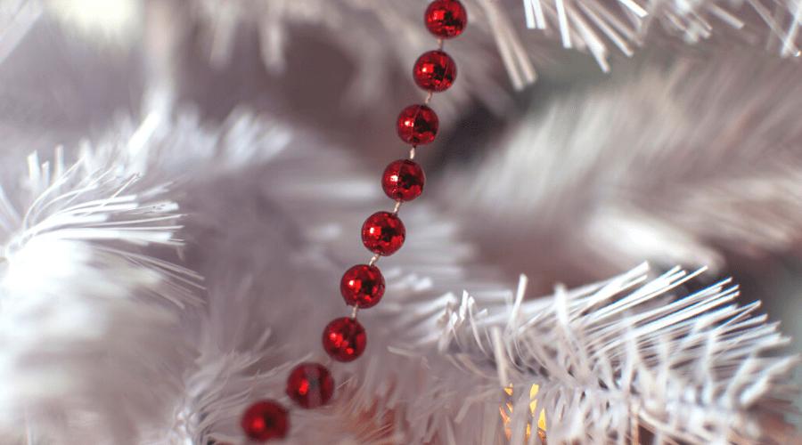 white christmas tree ideas 2020 red and white tree ideas