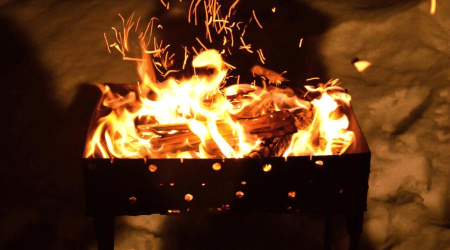 winter fire pit ideas grill pit diy