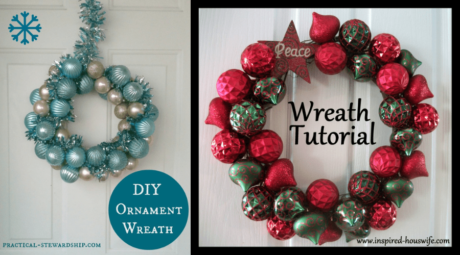 xmas door decorations diy wreath ornament