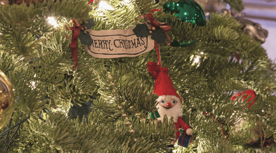 xmas garden gnome ornaments wide