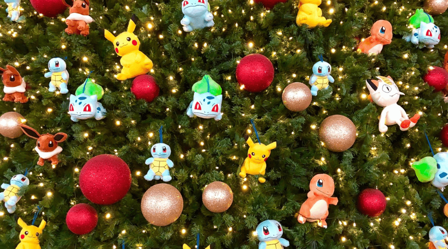 xmas tree decoration ideas christmas pop culture pokemon