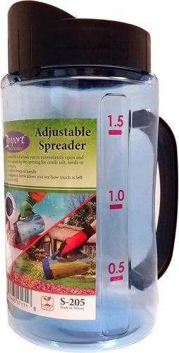 Zenport Fertilizer Adjustable Garden Spreader