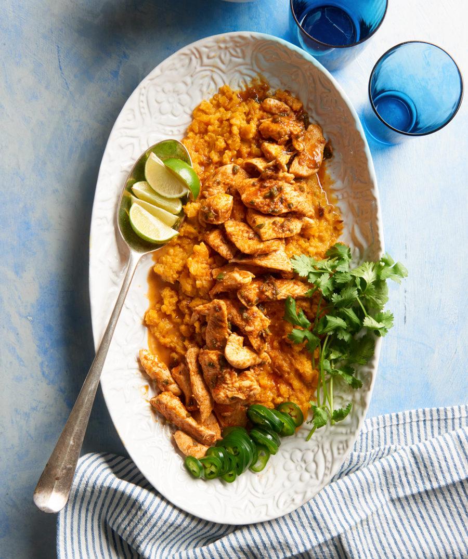 Butternut Coconut Rice with Thai Seasoned Chicken R272327c