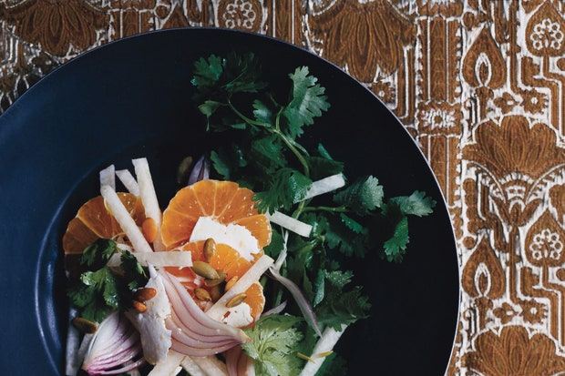 Clementine Jicama Salad
