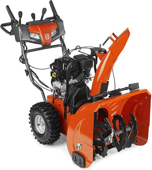 Husqvarna ST224 24-Inch 208cc Two Stage Electric Start Snow Blower - Best Snow Blowers: Reviews and Buyers Guide 2021