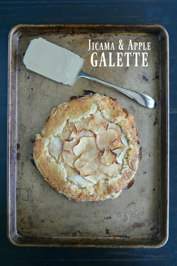 Jicama & Apple Galette