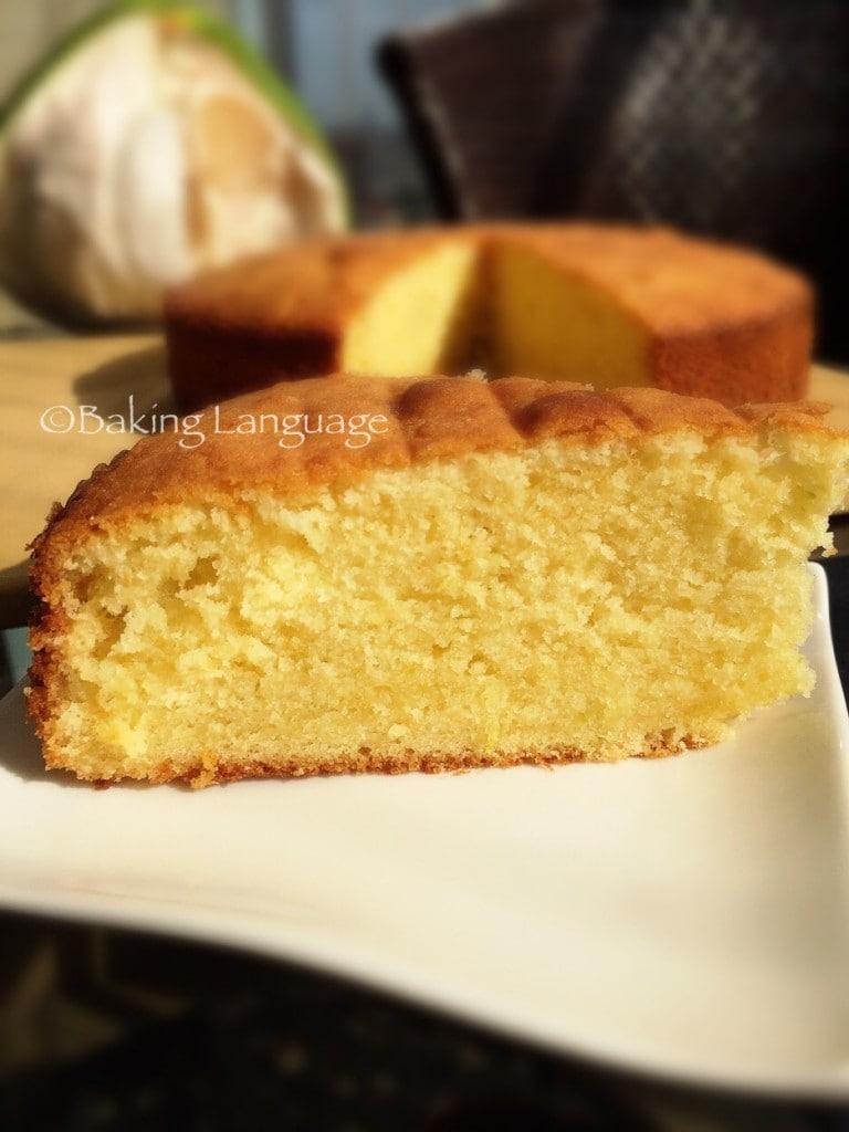 Pomelo Butter Cake