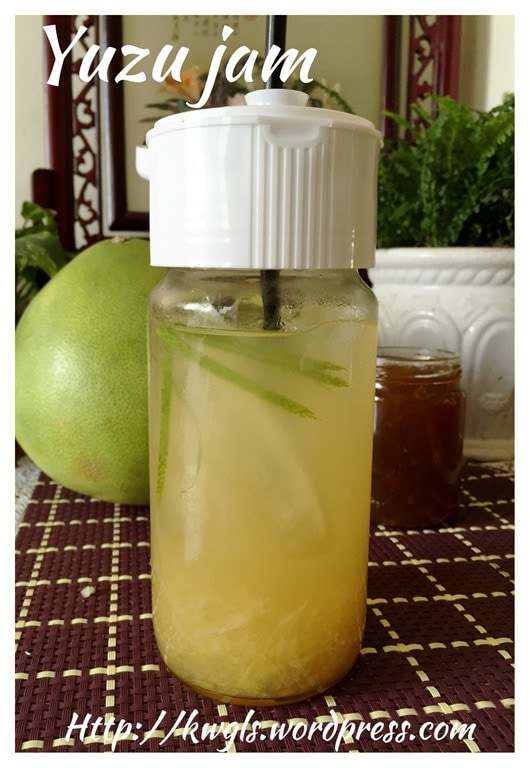 Pomelo Honey Jam