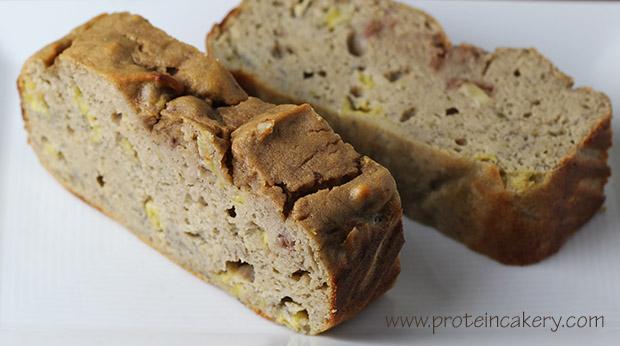Protein Banana Nut Bread