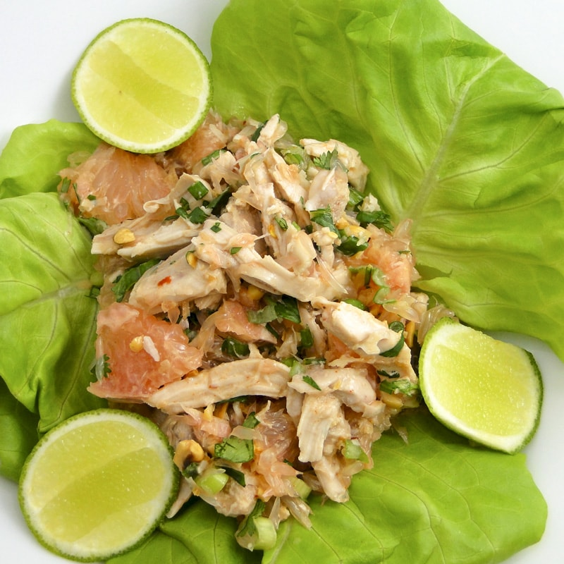 THAI POMELO AND CHICKEN SALAD